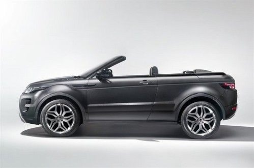 Range Rover Evoque Convertible 2 Range Rover Evoque Convertible Revealed