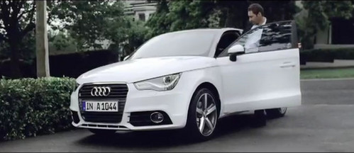 a1 commercial at Audi A1 Good Morning TV Commercial