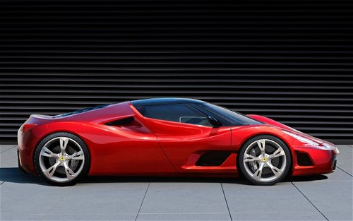 ferrari right side view Ferrari F70: The Enzo Replacement Has 920hp