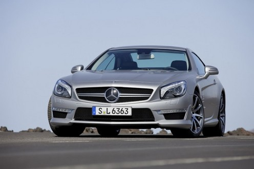 2013 Mercedes SL63 New 1 at 2013 Mercedes SL63: New Trailer and Pictures