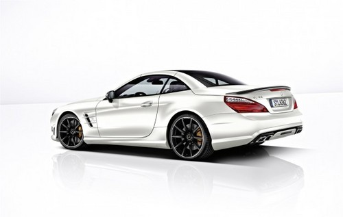 2013 Mercedes SL63 New 3 at 2013 Mercedes SL63: New Trailer and Pictures