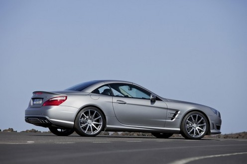 2013 Mercedes SL63 New 8 at 2013 Mercedes SL63: New Trailer and Pictures
