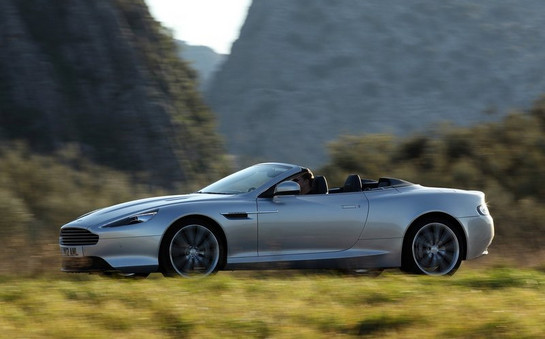 Aston Martin Virage Volante Aston Martin Virage Volante Is The Stuff of Dreams