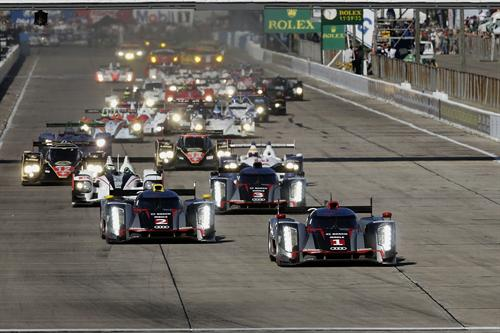 Audi one two 2 at Audi Begins 2012 WEC Season With One Two Victory