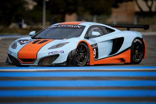 McLaren MP4 12C GT3 1 at McLaren MP4 12C GT3 Ready For Battle