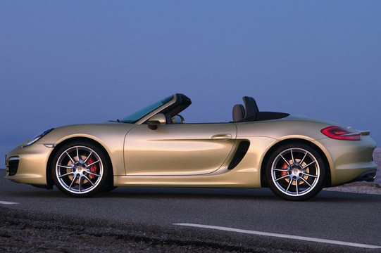 Porsche Boxster S at New Porsche Boxster Geneva Unveiling Video