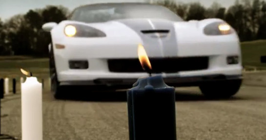 corvette candles at Corvette Blows Out 60 Candles For Its Anniversary
