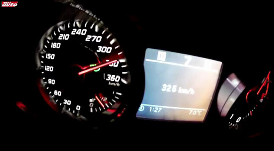 sls top speed Mercedes SLS Roadster Top Speed Test