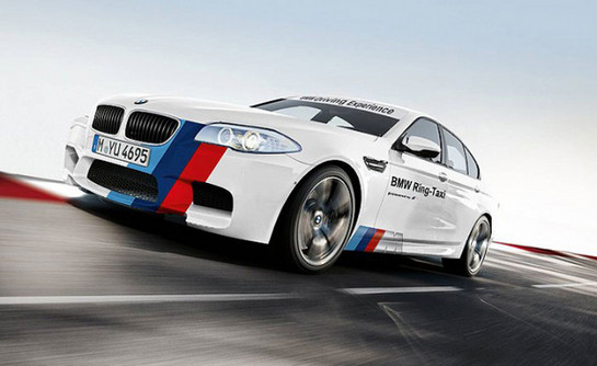 BMW M5 Ring Taxi BMW M5 Ring Taxi Officially In Business