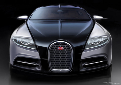 Bugatti Veyron Going Back To The Future Art Promo: Bugatti Releases New 16C Galibier Promo Film