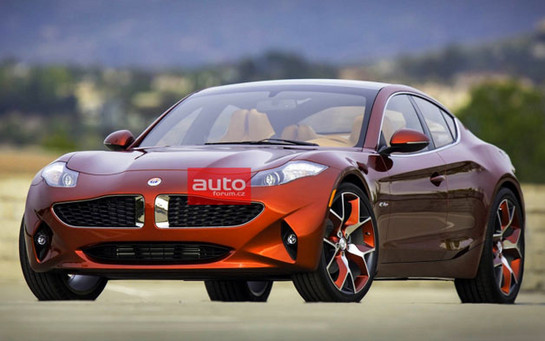 Fisker Atlantic 1 at Fisker Atlantic Leaked Ahead of New York Debut