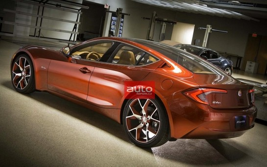 Fisker Atlantic 2 at Fisker Atlantic Leaked Ahead of New York Debut
