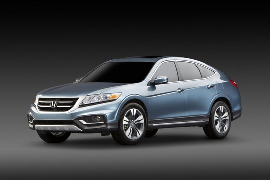 2013 Honda Crosstour Concept Debuts At 2012 New York Auto Show