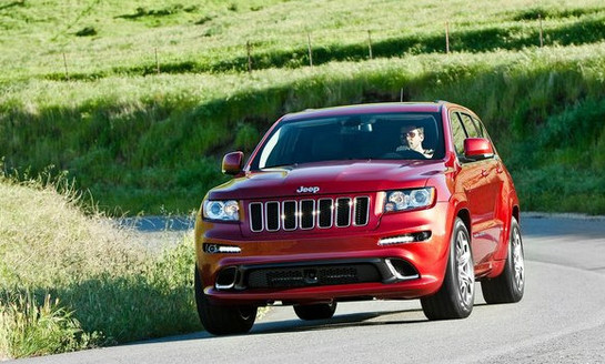 Jeep Grand Cherokee SRT8 at Jeep Cherokee SRT8 at Nurburgring with Sabine Schmitz
