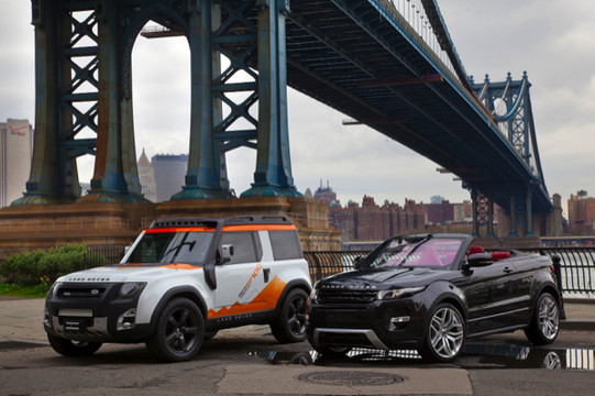 2012 New York: Land Rover Booth Packed with Updated DC100 Concept, Limited ...