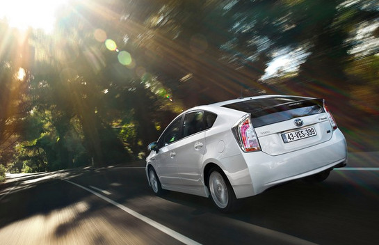 Toyota Prius at Hybrid Buyers Are Not Loyal Customers