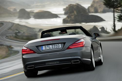 2013 Mercedes SL UK Pricing Confirmed 2013 Mercedes SL UK 2