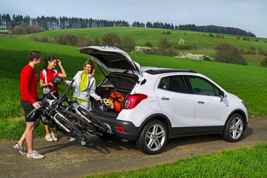 Buick Encore Bike Rack >> Opel Mokka Gets Flexfix Bike Carrier