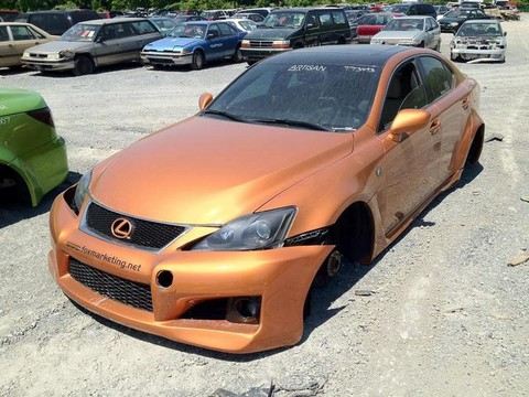 Fox marketing lexus sema cars destroyed for Fox motors used cars