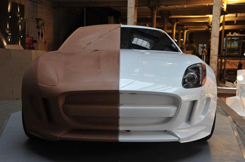 Jaguar C X16 Clay Model Goes On Display