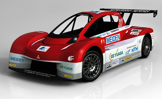 Mitsubishi i MiEV Pikes Peak 1 at Mitsubishi i MiEV Evolution Revealed For Pikes Peak