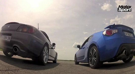 Subaru BRZ vs honda S2000 at New vs Old: Subaru BRZ Takes On Honda S2000