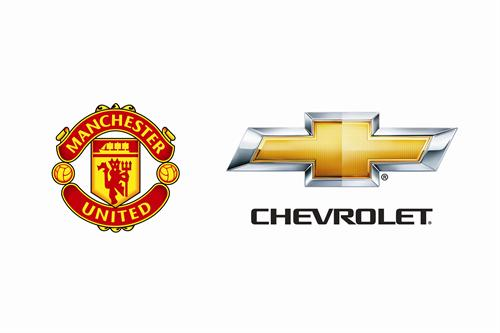 Chevrolet Signs Sponsorship Deal With Manchester United chevrolet manchester united