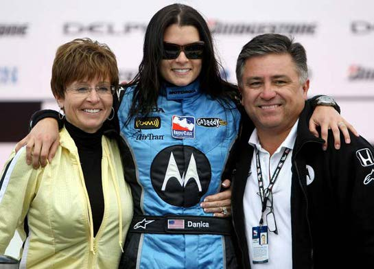 danica patrick parents after win at Danica Patrick  America's Sweetheart