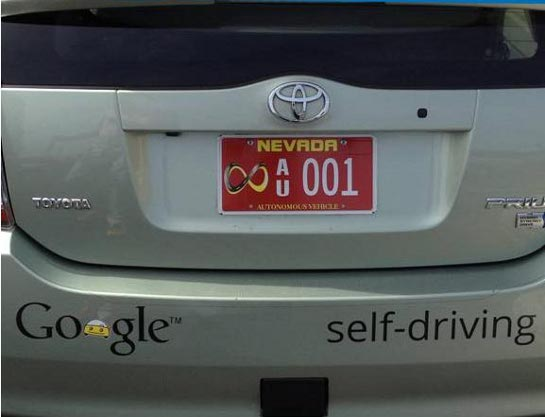 First us license to test driverless cars given to google for Department of motor vehicles carson city nevada