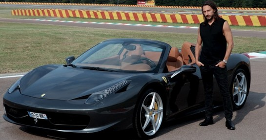 458 Spider car - Color: Black  // Description: appealing