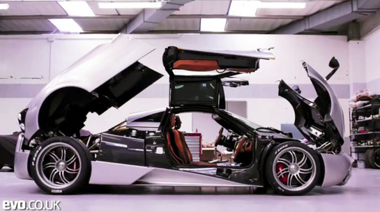 Inside look Huayra An Inside Look At Pagani Factory: The Huayra