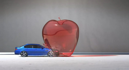 "M5 bullet Cool: BMW M5 ""Bullet"" Commercial"