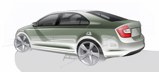 Production Skoda Rapid 2 Production Skoda Rapid Previewed