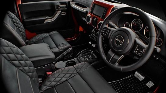 Kahn Design Jeep Wrangler Military Copper Edition