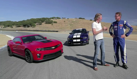 ZL1 vs GT500 MT 1 at Motor Trend: Camaro ZL1 Is Better Than Shelby GT500