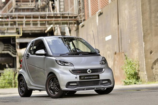 10th anniversary smart 1 Brabus Smart Fortwo 10th Anniversary Edition