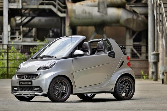 10th anniversary smart 2 Brabus Smart Fortwo 10th Anniversary Edition