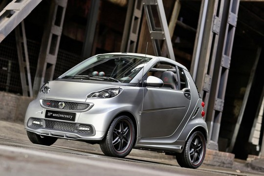 10th anniversary smart 3 Brabus Smart Fortwo 10th Anniversary Edition