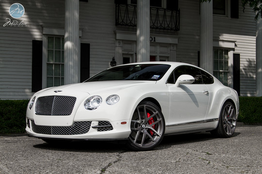 2012 Bentley Continental Gt With Modulare Wheels