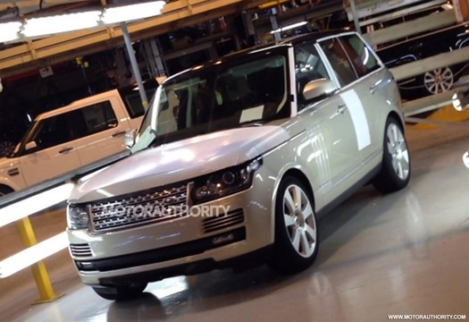 2013 land rover range rover This Is The 2013 Range Rover