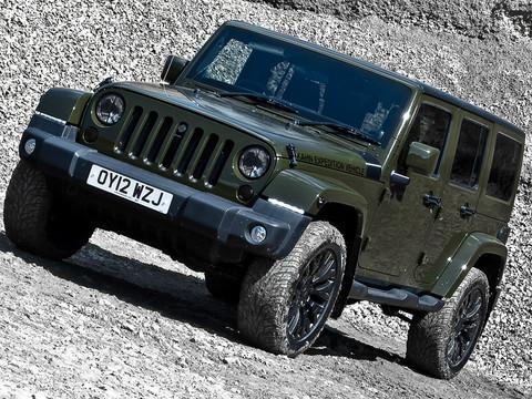 Kahn Design Military Green Jeep Wrangler