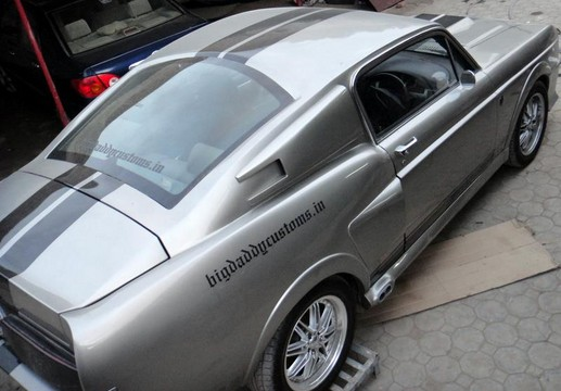 Mustang Eleanor Replica 3 at Mustang Eleanor Replica Based On Chevy Lacetti