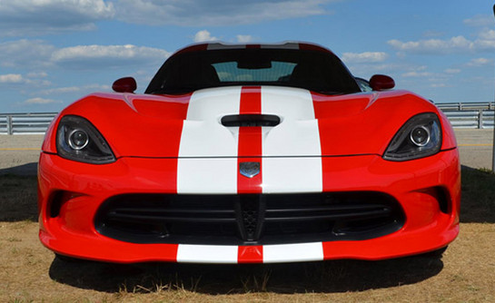 SRT Viper Stripes1 2013 SRT Viper with Stripes