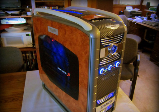 Cool: Aston Martin Computer Case Aston Martin Computer Case 11