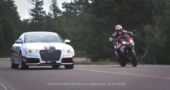 Audi and Ducati Pikes Peak Come Together Audi & Ducati at 2012 Pikes Peak – Extended Trailer