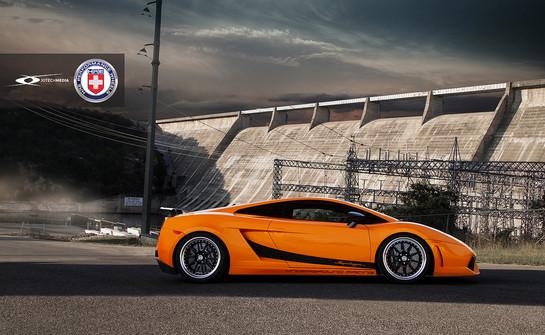 Ur Lamborghini Gallardo Superleggera With Hre Wheels
