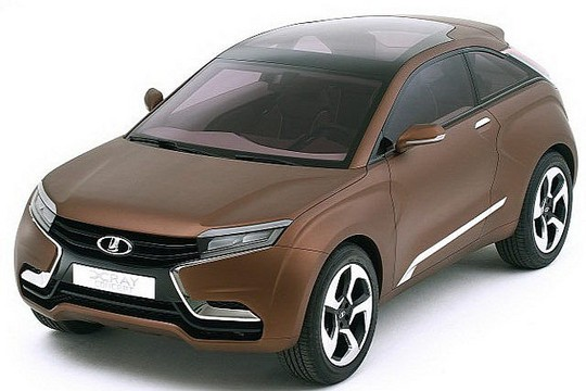 Lada X Ray Concept Revealed In Moscow Lada X Ray 2