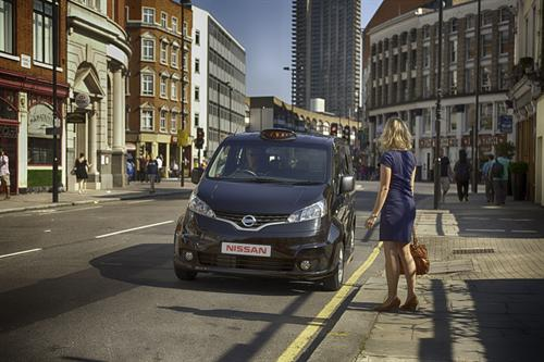 Nissan London Black Cab Concept 1 Nissan Black Cab Concept Unveiled