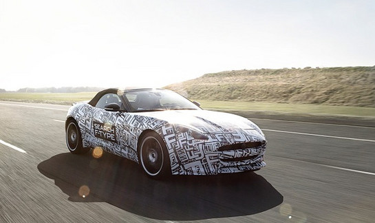 jaguar f type Jaguar F Type: New Teasers Videos