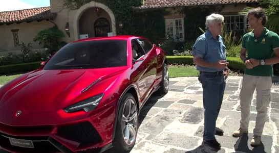 Jay Leno Interviews Lamborghini Ceo